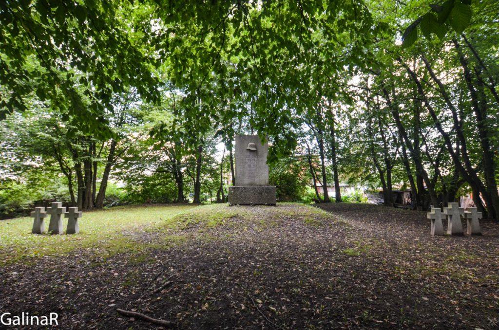 Памятник Первой мировой в Железнодорожном Гердауэн