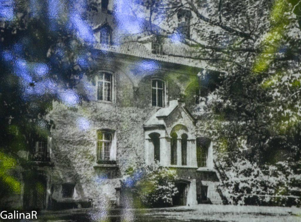 Замок Гердауэн в Железнодорожном, довоенное фото