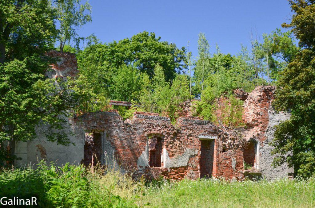 Замок Гердауэн в Железнодорожном