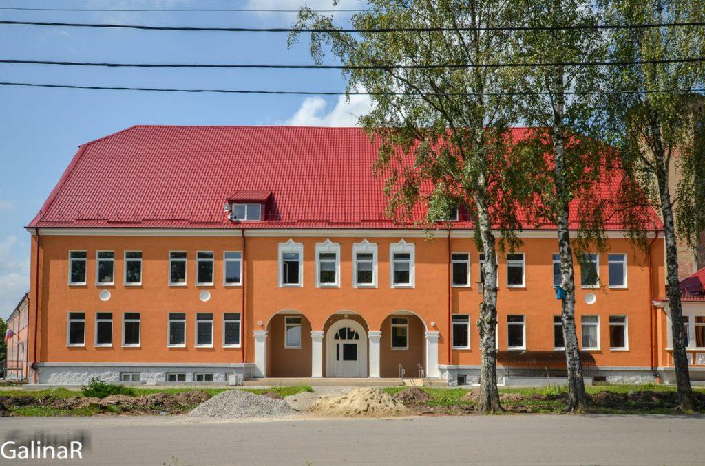 Здание младшей школы в Железнодорожном – Гердауэн
