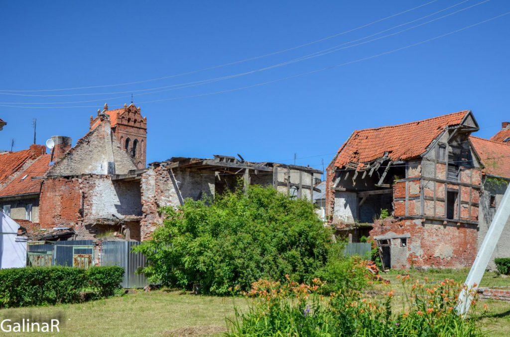 Фахверковые дома в Железнодорожном Гердауэн