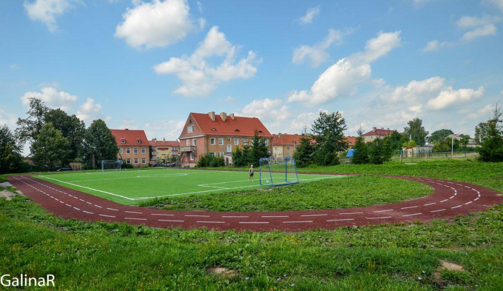 Школьная спортивная площадка в Железнодорожном - Гердауэн