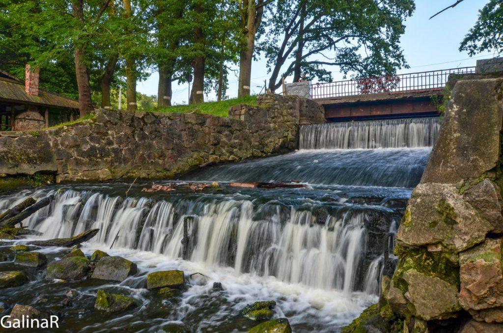 Водопад в Гердауэн - Железнодорожном