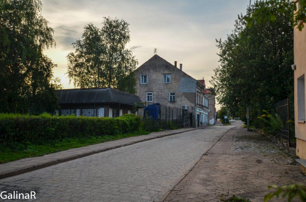 Центр поселка Железнодорожный