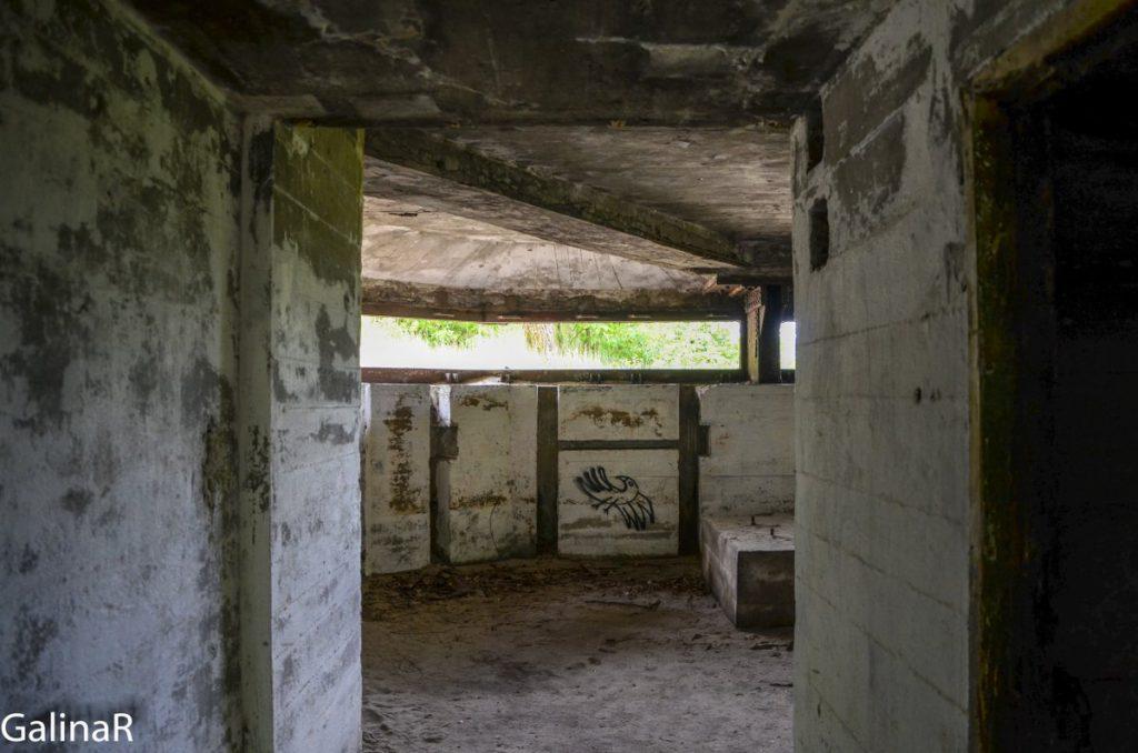 Двухэтажный бункер целеуказания первый этаж
