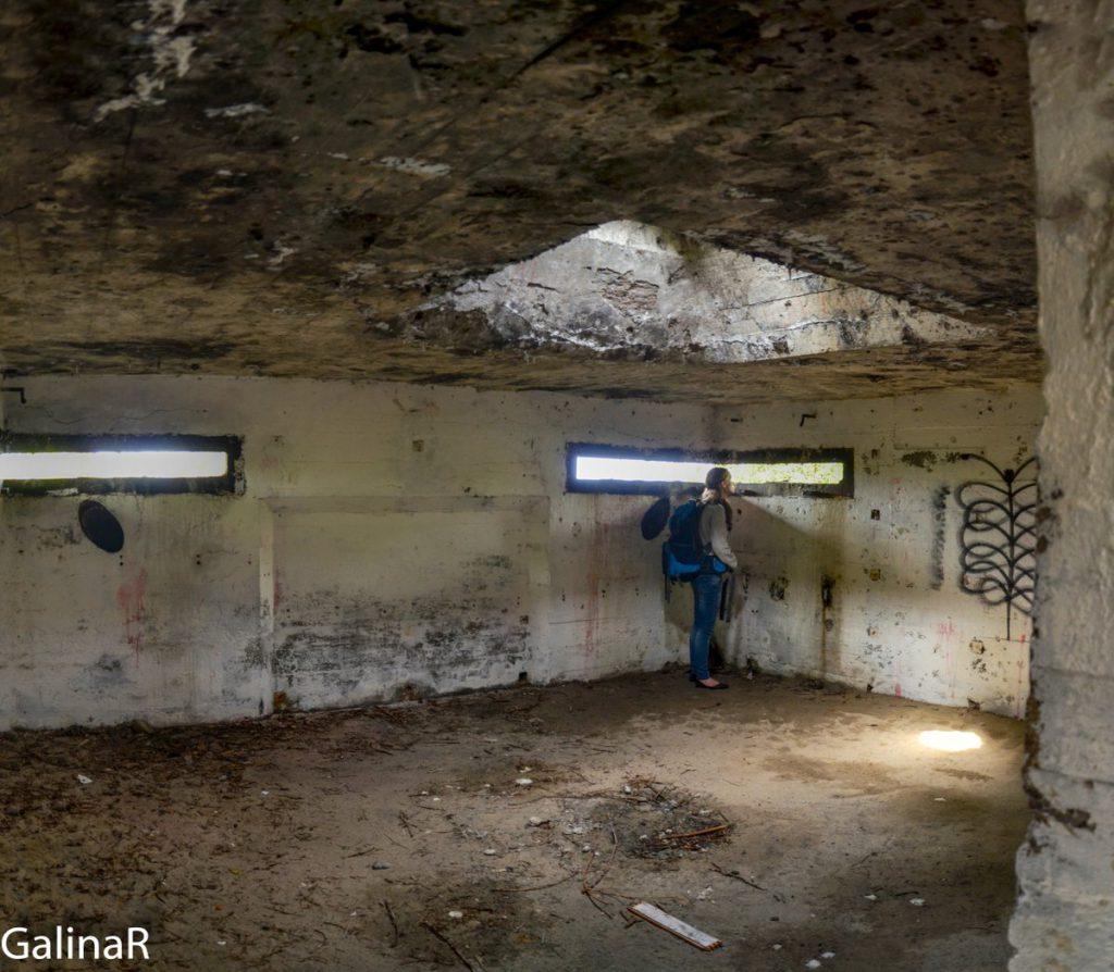 Двухэтажный бункер целеуказания второй этаж