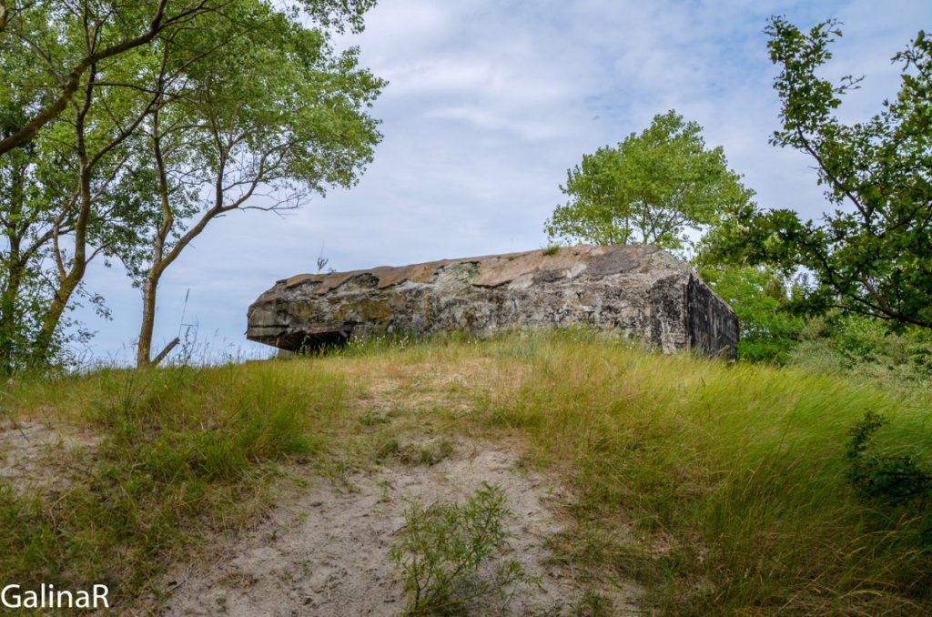Крышка двухэтажного бункера целеуказания