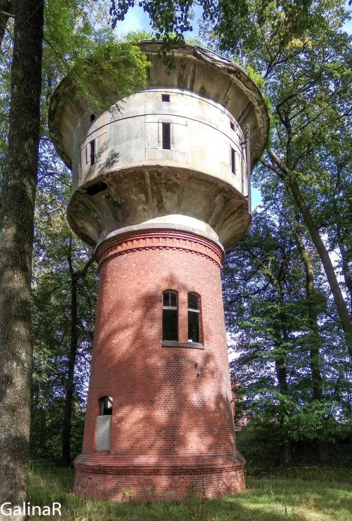 Водонапорная башня в Железнодорожном Гердауэн
