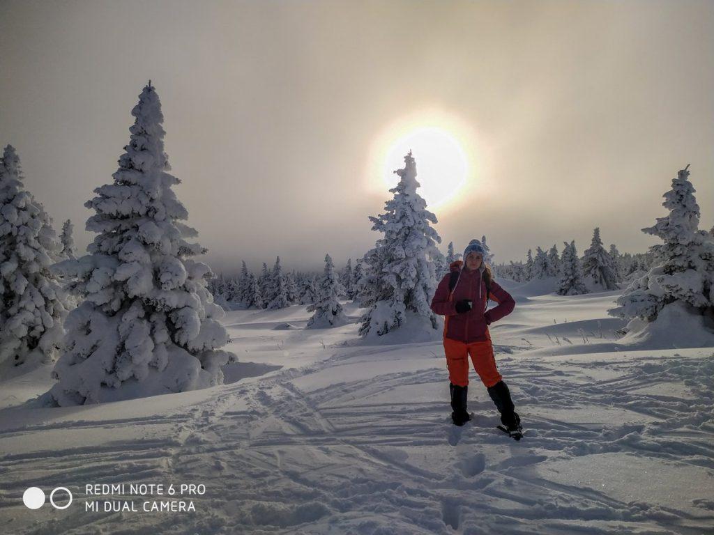 Хребет Зигальга зимой