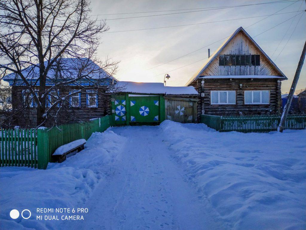 Старинные дома села Тюлюк