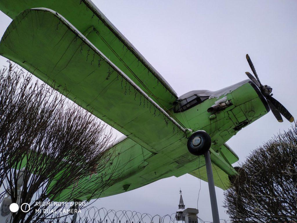 Самолет у Сонькиной лагуны