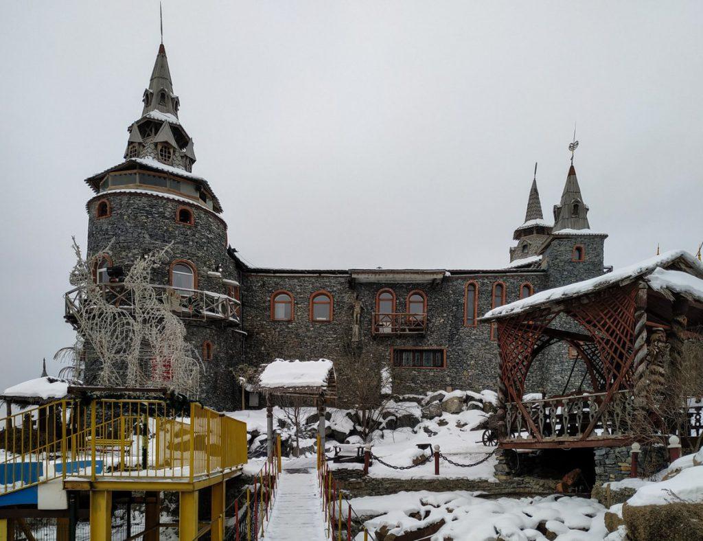 Каменная крепость в Сонькиной лагуне