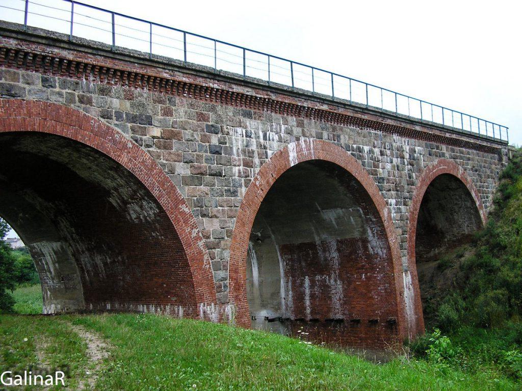 Железнодорожный мост в Железнодорожном Гердауэн
