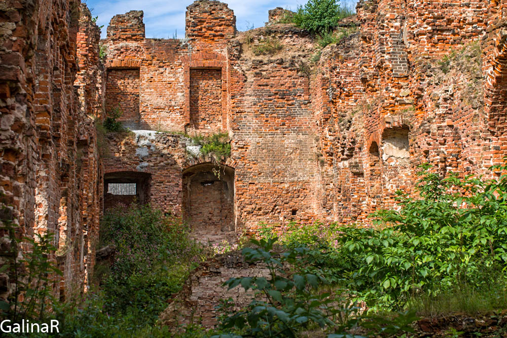 Замок Рагнит внутри