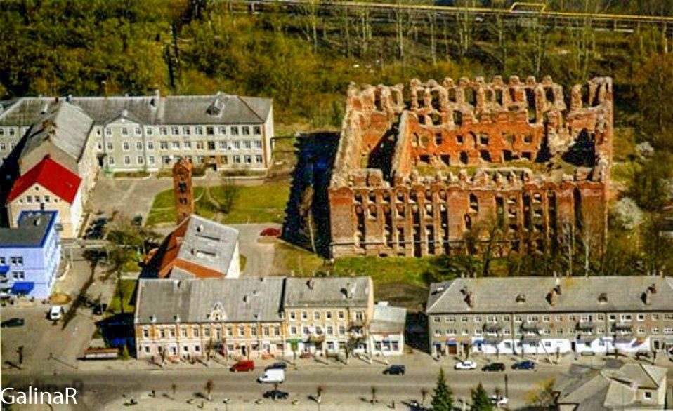 Панорама замка Рагнит