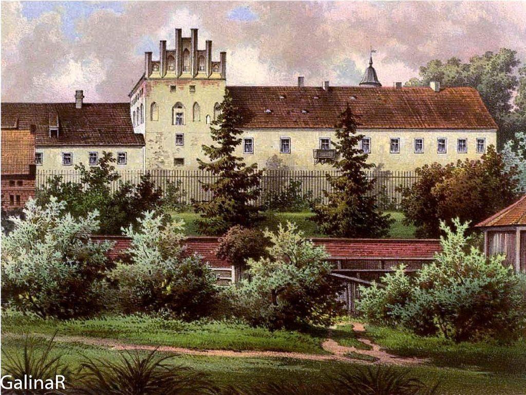 Замок Георгенбург фото до войны