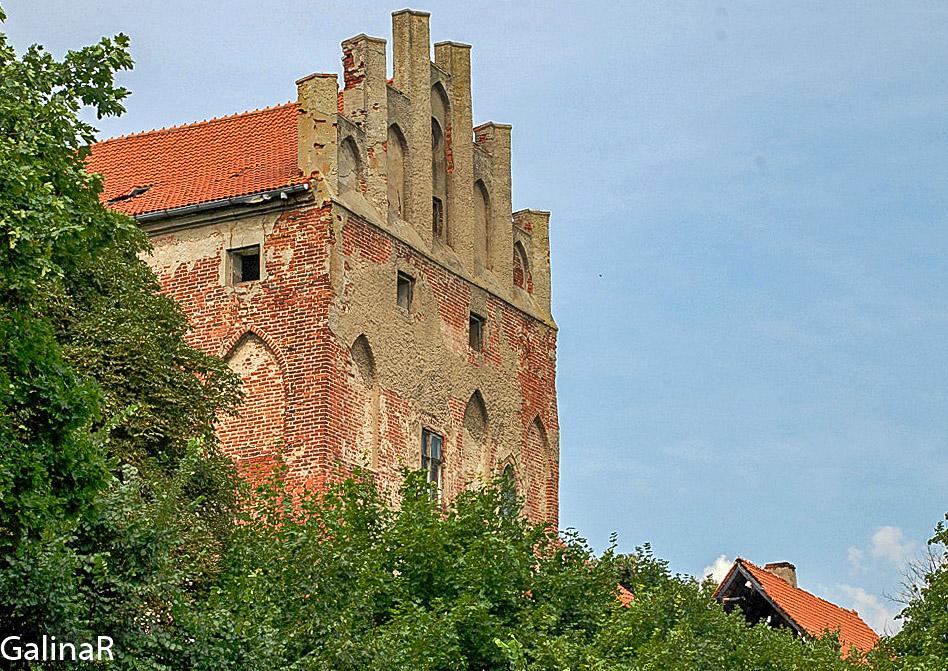 Замок Георгенбург снаружи