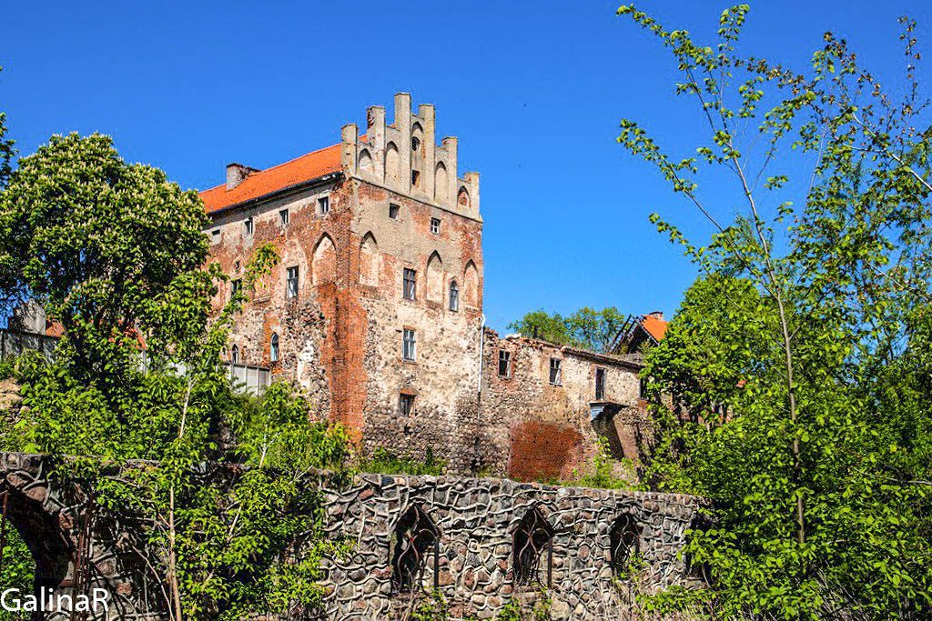Замок Георгенбург панорама