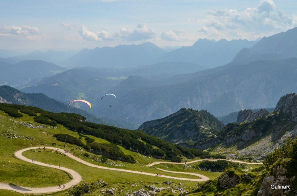 Панорама Альп с Альпшпитце