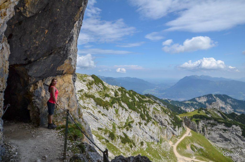 Пещера по дороге на Альпшпитце