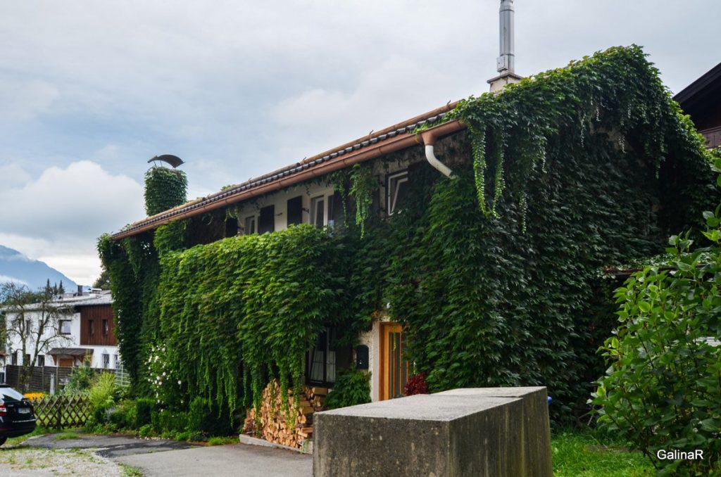 Красивые дома Гармиш Партенкирхен