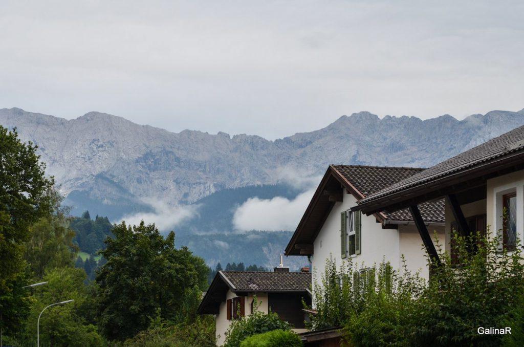 Альпы вокруг Гармиш Партенкирхен