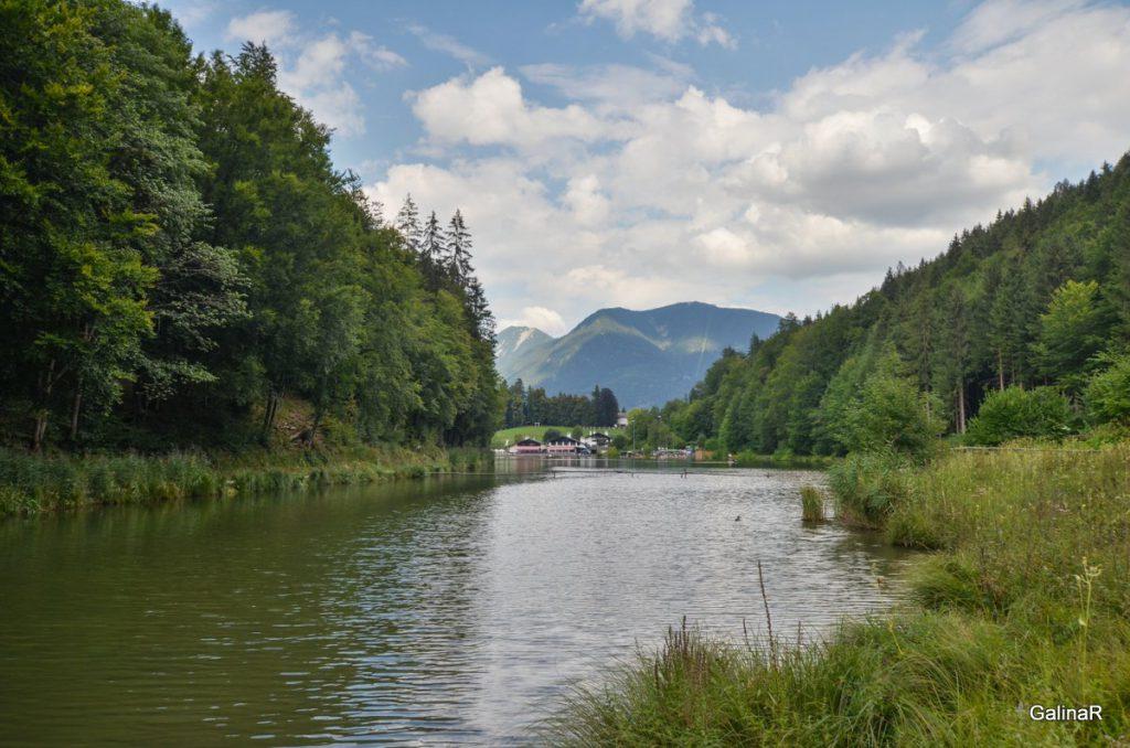 Озеро Ризерзее В Гармиш Партенкирхен