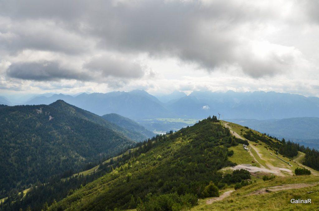 На вершине горы Ванк