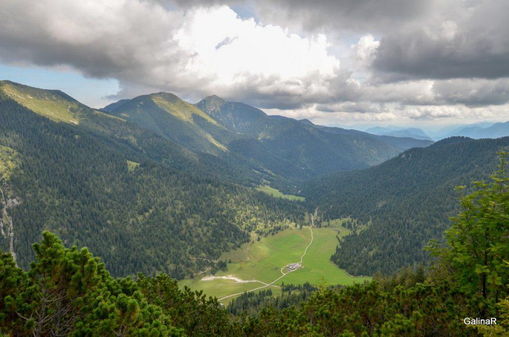 Вид с горы Ванк