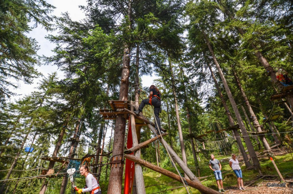 Веревочный парк Kletterwald