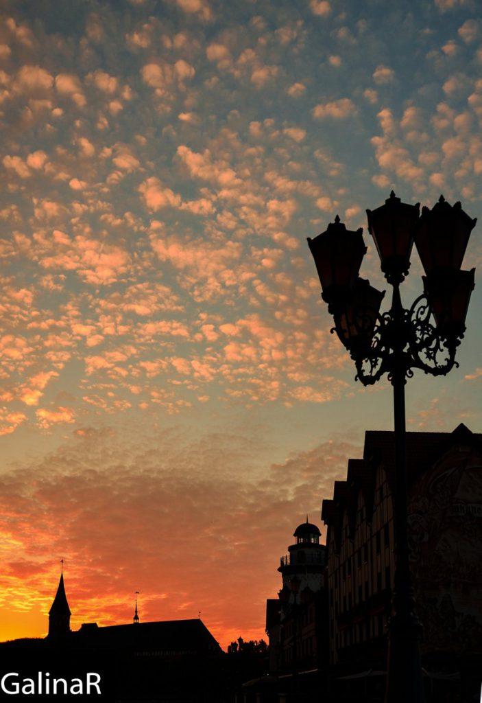 Закат у Кафедрального собора