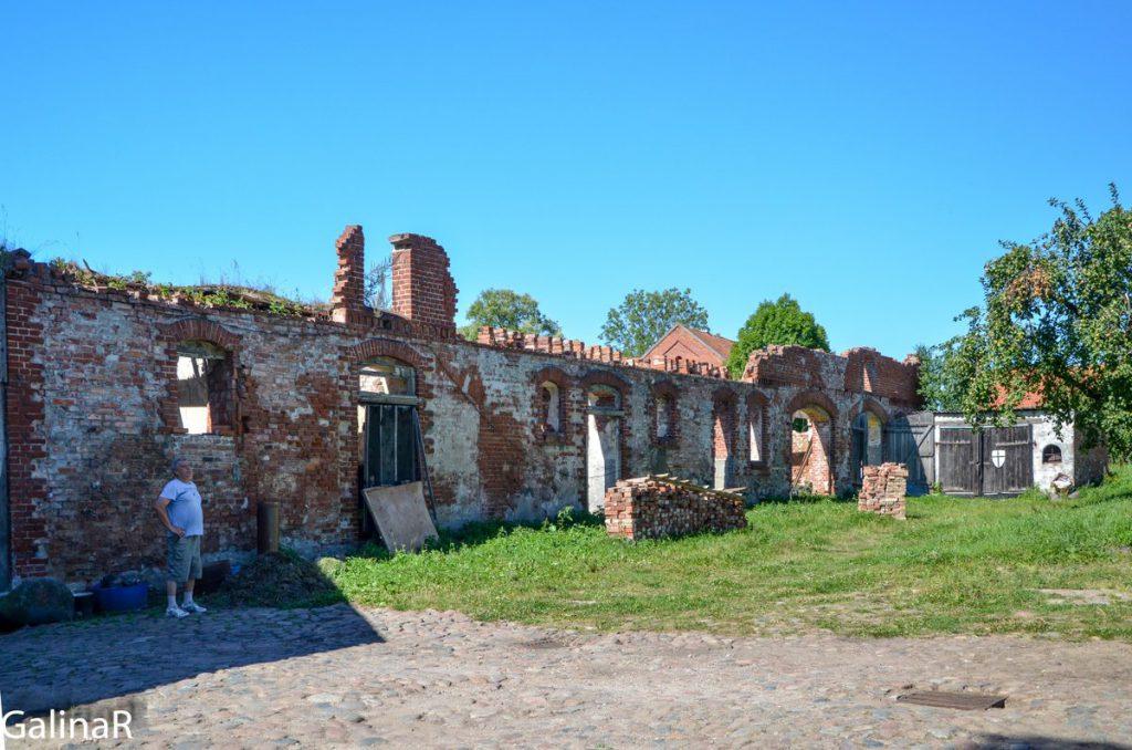 Руины замка Георгенбург