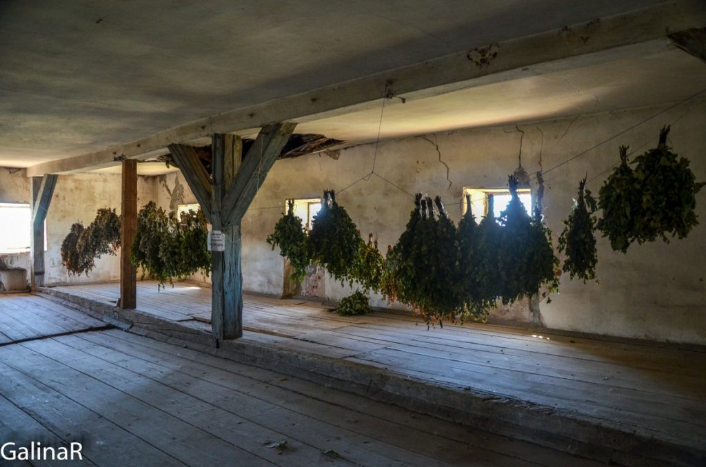 Замок Георгенбург под крышей