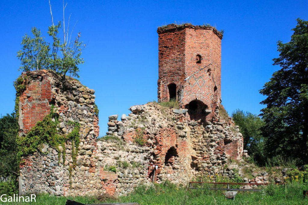 Кирха 1693 во дворе замка Георгенбург