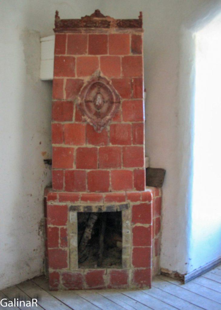 Замок Георгенбург камин внутри