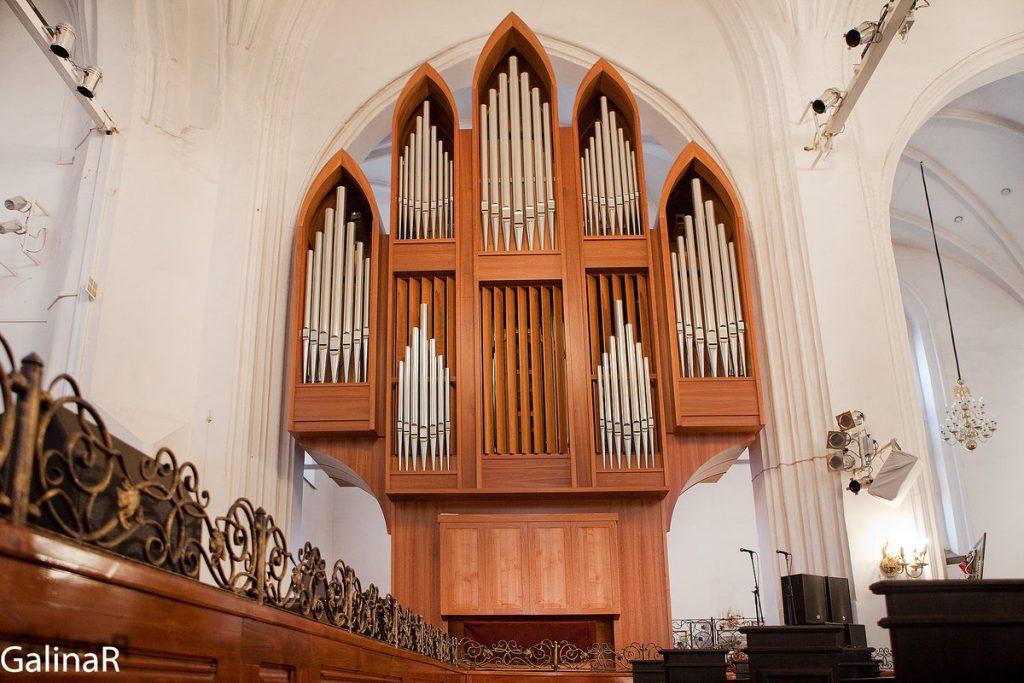 Малый орган в Кафедральном соборе