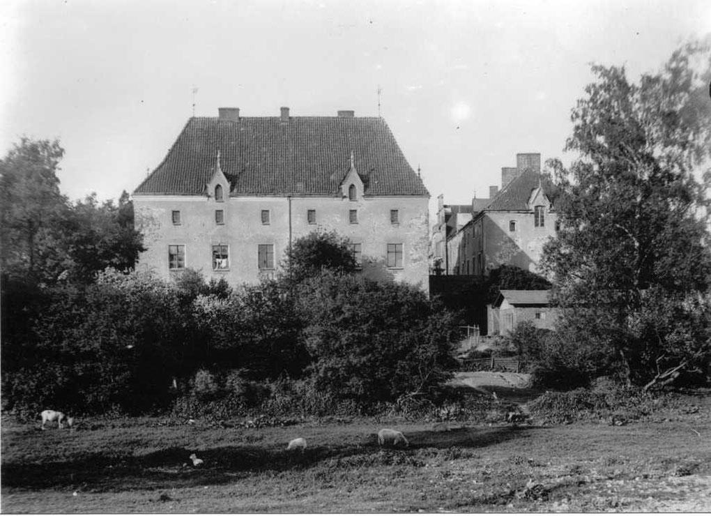 Замок Вальдау довоенные фото