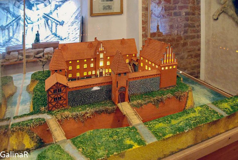 Замок Вальдау макет
