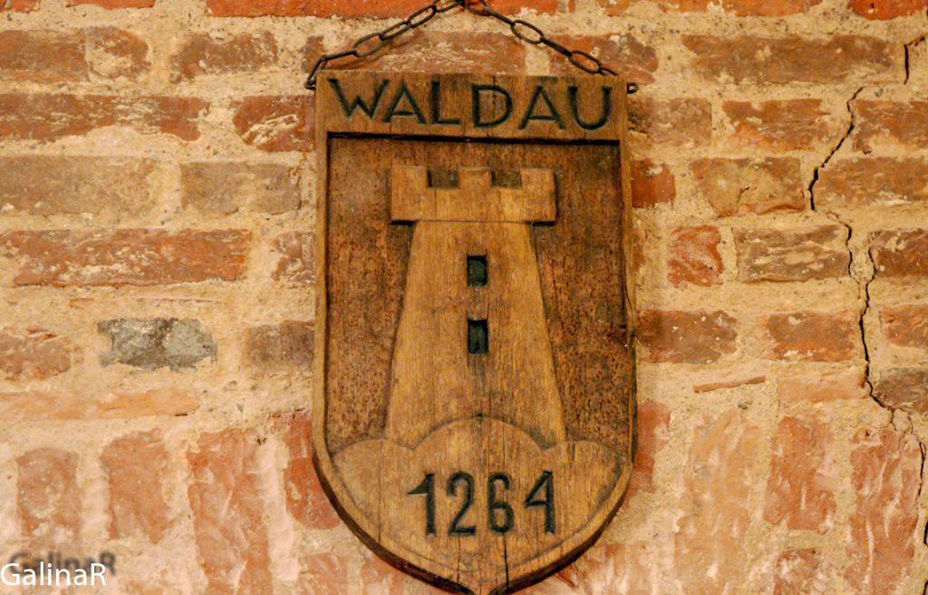 Замок Вальдау внутри