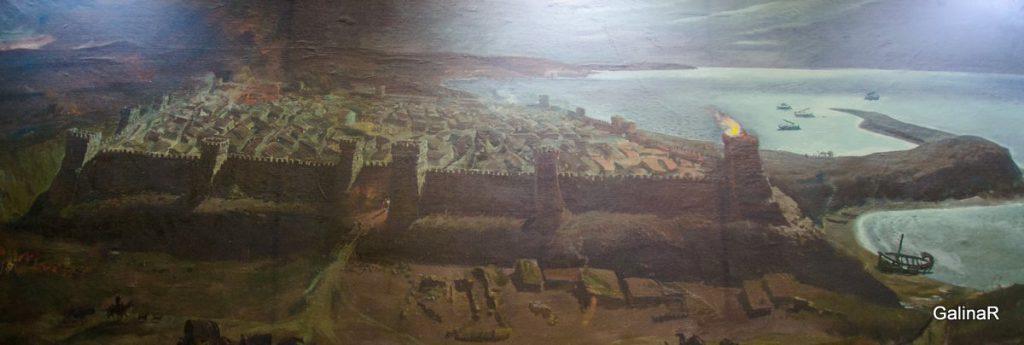 Реконструкция древнего города Танаис