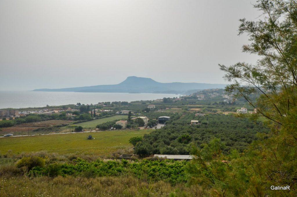 Вид на пляж Фаласарна