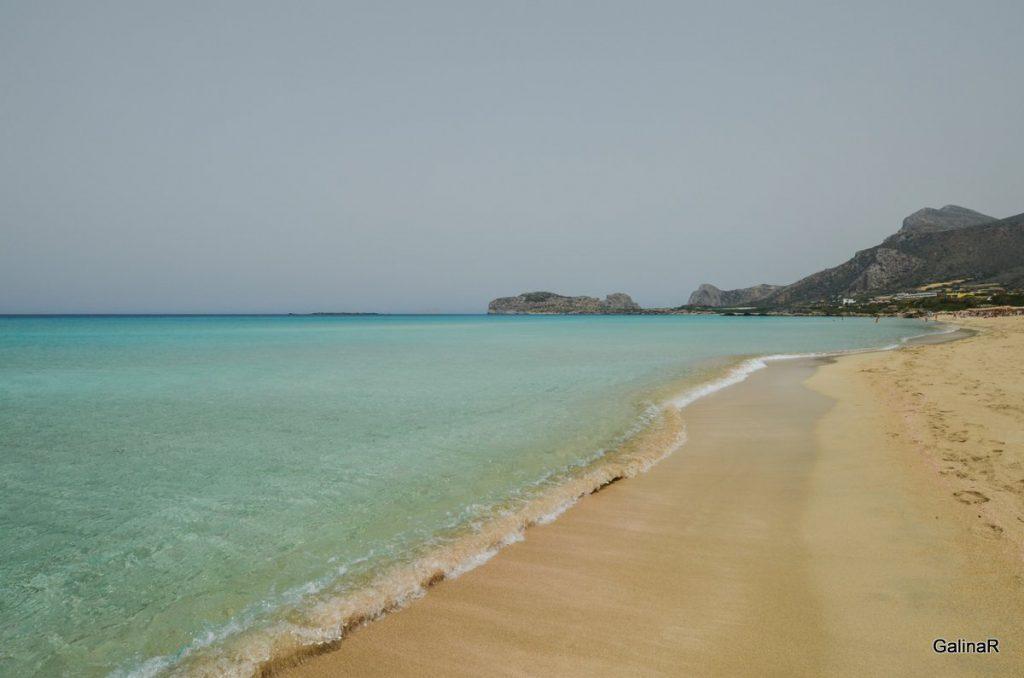 Большой пляж Фаласарна