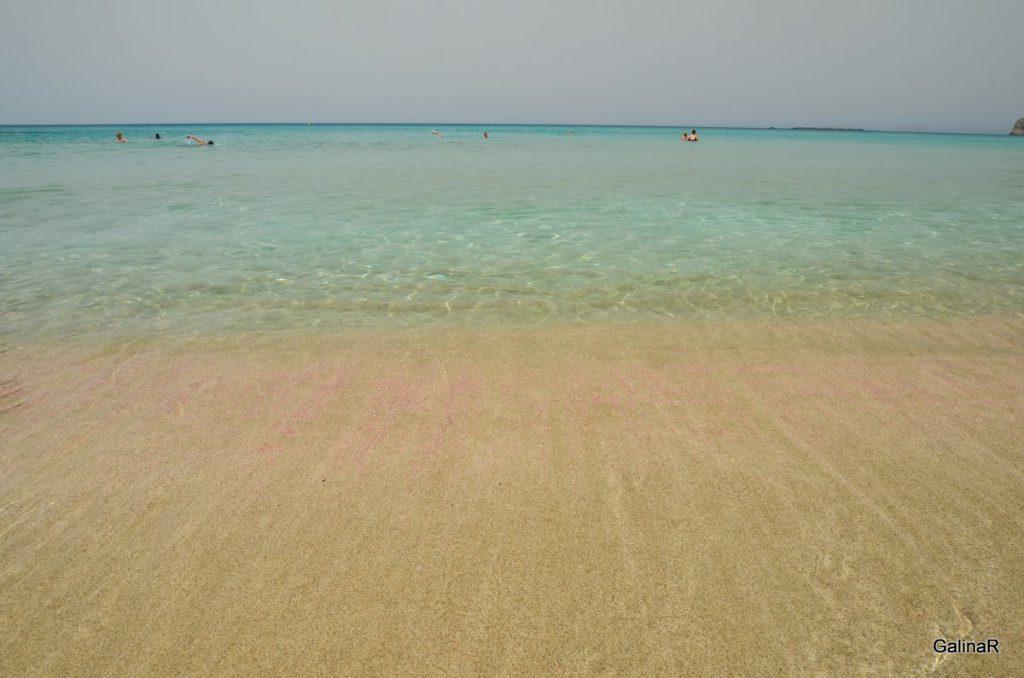 Пляж Фаласарна на Крите
