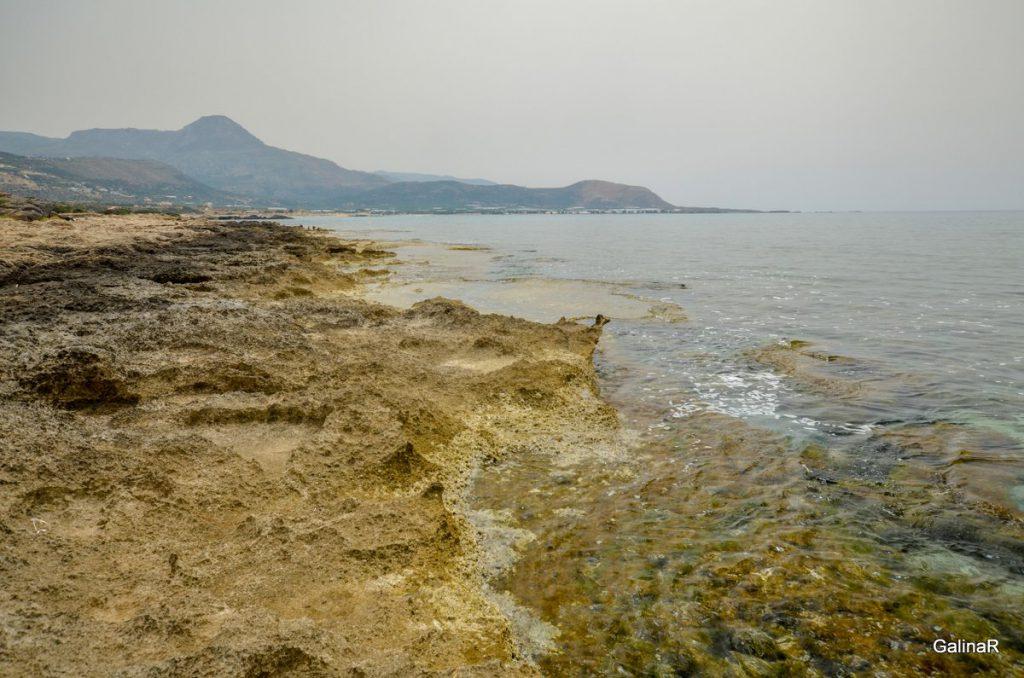 Северный пляж Фаласарна