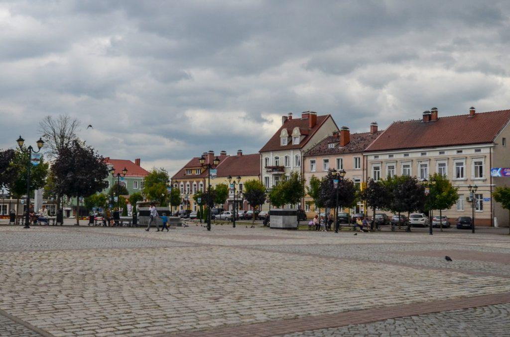 Центральная площадь в Гвардейске