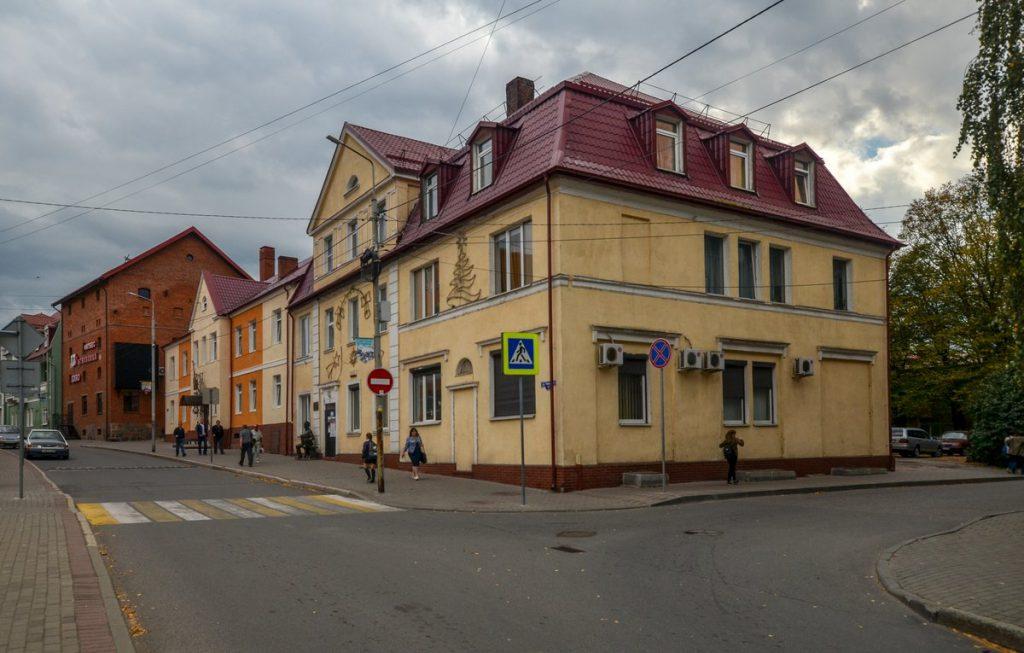 Улица Тельмана в Гвардейске