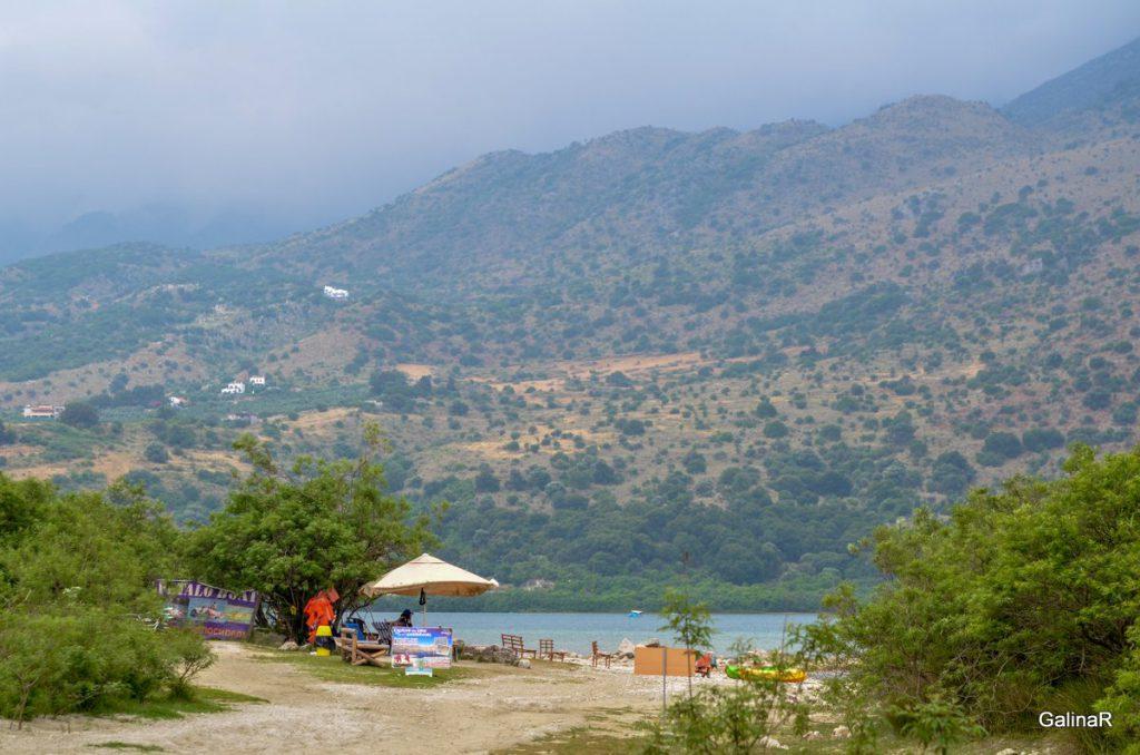Озеро Курнас Крит
