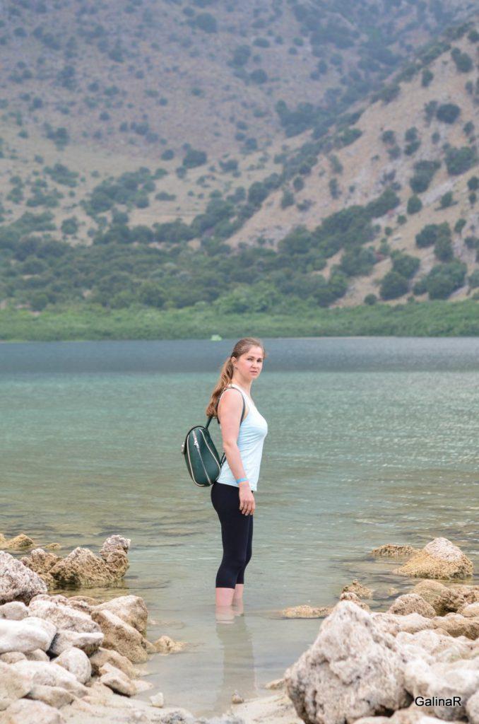 Побережье озера Курнас