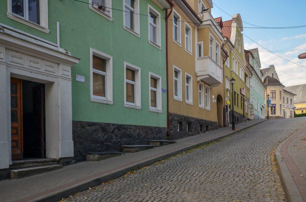 Улица Горная в Гвардейске