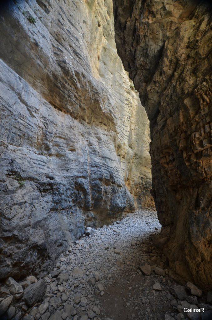 Ущелье Имброс на Крите